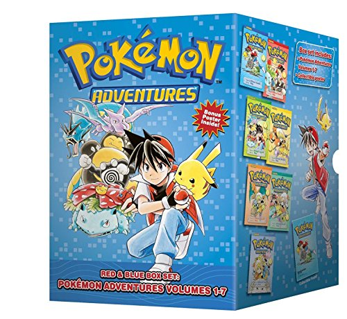 POKEMON ADVENTURES GN BOX SET VOL 01 (C: 1-1-2): Set Includes Vol. 1-7