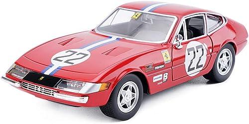 estar en gran demanda FDHLTR Modelo de Coche Coche 1 24 Ferrari 365 GTB4 GTB4 GTB4 simulación de aleación de fundición de Juguetes Adornos colección de Coches Deportivos joyería 19x8x5CM Modelo de Auto  barato y de alta calidad
