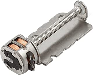 Uxcell DC3-6V 2 Phase 4 Wire Micro-Step Stepper Motor, 16mmx2mm Screw Shaft
