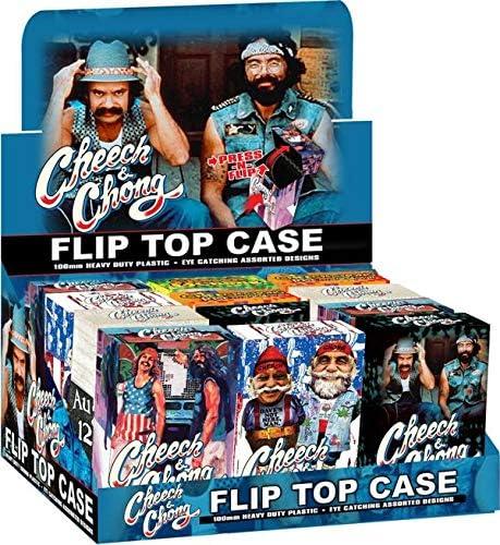 Cheech Chong Pop Up Cigarette Cases 12 Popular standard King - Popular standard Size ct.