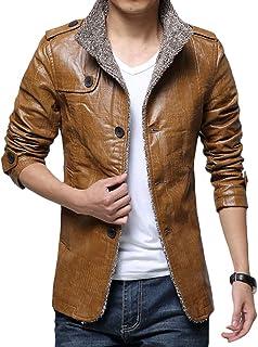JHIJSC ジャケット メンズ コート レザージャケット バイク 長袖 秋冬 防風 防寒 厚手 裏起毛 大きいサイズ