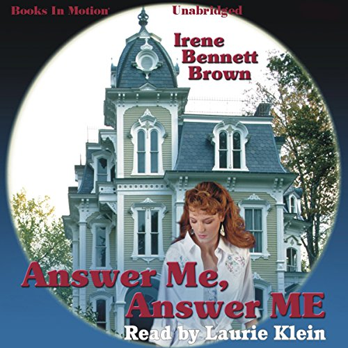 Answer Me, Answer ME audiobook cover art