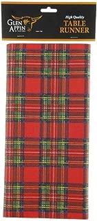Glen Appin of Scotland Airlaid Paper Royal Stewart Tartan Table Cloth Runner