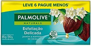 Sabonete Em Barra Palmolive Naturals Esfoliação Delicada 85G Promo Leve 6 Pague 5