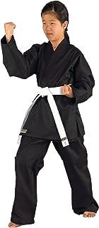 comprar comparacion Kwon Karatea Shadow - Kimono de Artes Marciales Infantil, tamaño 120 cm, Color Negro