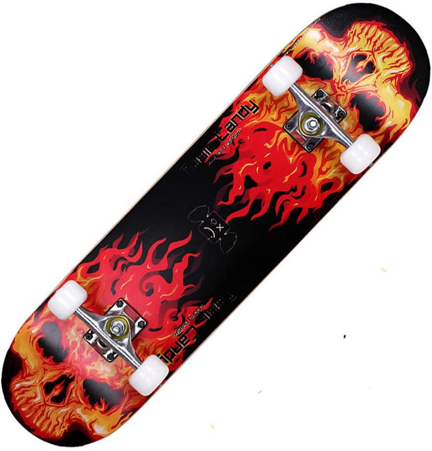 WZHESS 9 Layer Canadian Maple Wood Complete Purchase Concave S Skateboard Milwaukee Mall