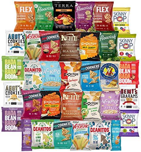 终极优质健康芯片和零食护理包装品种包多种乐趣(护理包35计数)