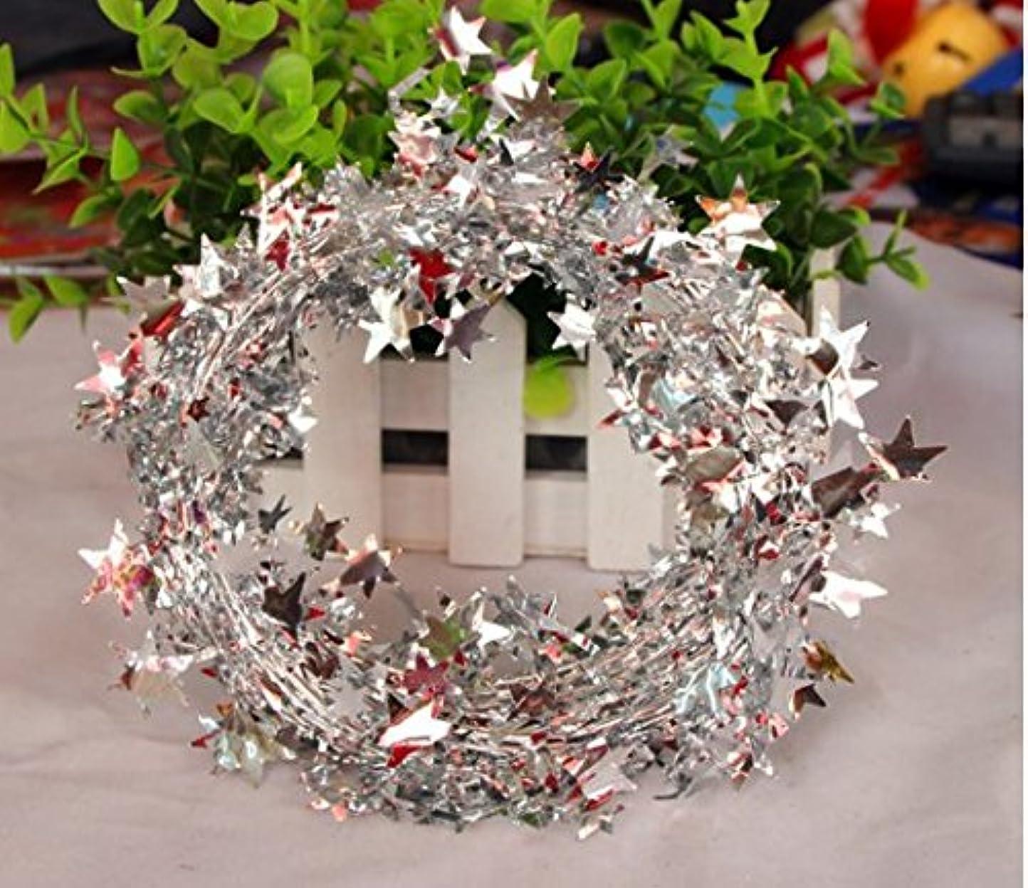接ぎ木幅複合Hommyクリスマス/モール/パーティー/装飾/アレンジ/デコレーション/用品/天井飾り 4色オプション (白)