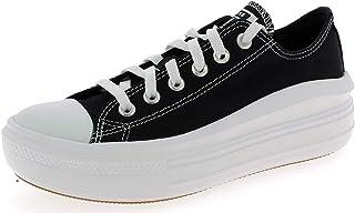 Canvas Colour Chuck Taylor All Star Move Low Top Chaussures DE Sport pour Femme Noir 570256C