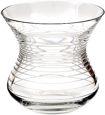 Cristal de Sèvres strombos Vase, Verre, 24x 24x 25cm