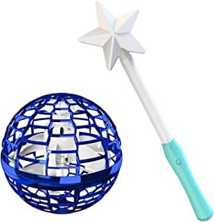 FSLLOVE FANGSHUILIN Flying Ball Toys Ortable Interactive Present Interactive Helicopter Children Kids Boys Girls with Magi...