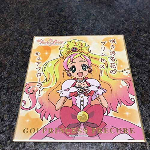 キュアフローラ プリキュア オールスター ビジュアル色紙 コレクション