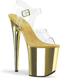Best gold stripper heels Reviews