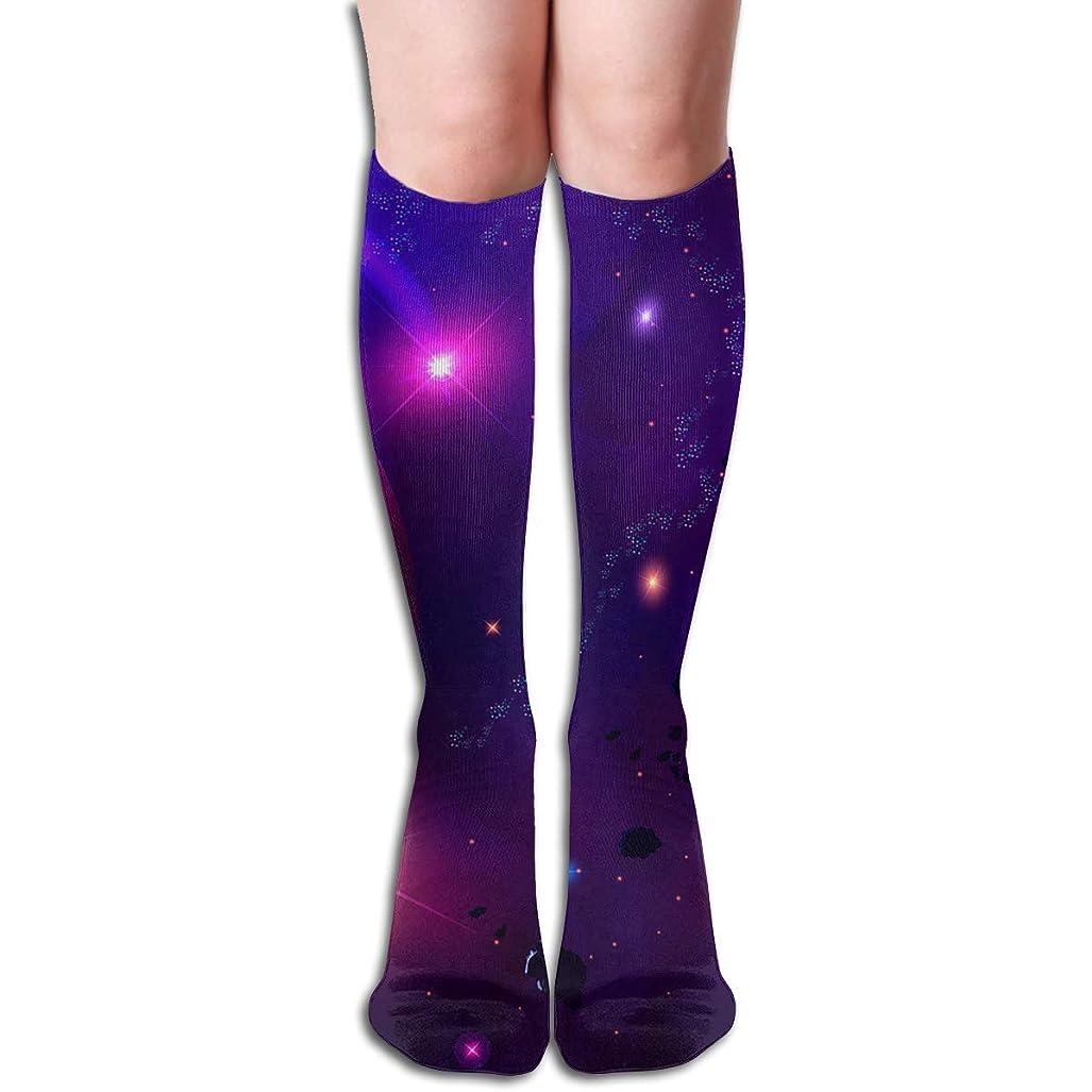 解き明かすフラップ動機付けるqrriy小惑星隕石チューブストッキングレディース冬暖かい膝ハイソックスブーツ靴下