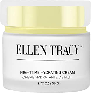 Ellen Tracy Nighttime Hydrating Cream for Face and Neck, Anti-Aging Face Cream for Wrinkles, Fine Lines, Age Spots, Skin Tone, Firming and Dark Circles, Moisturizing, Hydrating Night Cream 1.77 OZ