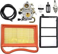 Carbhub C1Q-S118 Carburetor for Stihl TS410 TS420 TS410Z TS420Z Concrete Cut-Off Saw with Air Fuel Filter Primer Bulb Tune-up Kit C1Q-S118, 4238 120 0600 Carburetor