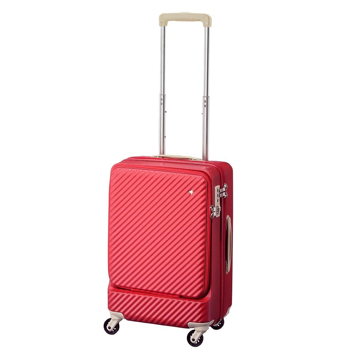 本三角形任命[HaNT(ハント)] スーツケース 34L 48cm 3.3kg 機内持ち込み対応 05744