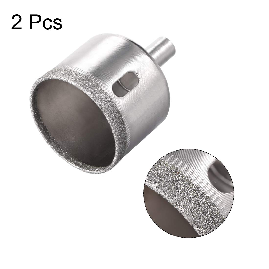 sourcing map taladro metal de diamante de 26 mm para sierras perforadoras de porcelana vitrocer/ámica 5 piezas