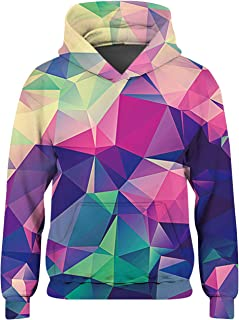 Kids Hoodie 1-13 Years Space Animals 9 Colours Sloth
