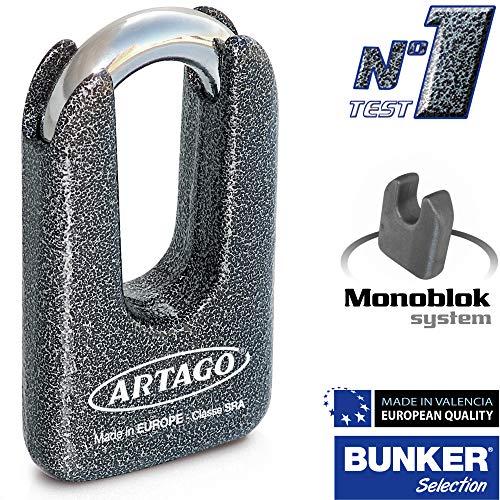 ARTAGO 778art Lucchetto antifurto Manubrio Practic Art Alta Gamma con Supporto per Vespa GTS Super 125//300/