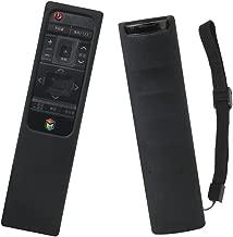 Samsung Smart QLED TV Remote Case SIKAI Shockproof Protective Case for Samsung QLED TV Smart Remote Control BN59-01221B BN59-01220A BN59-01220B with Free Lanyard (Black)