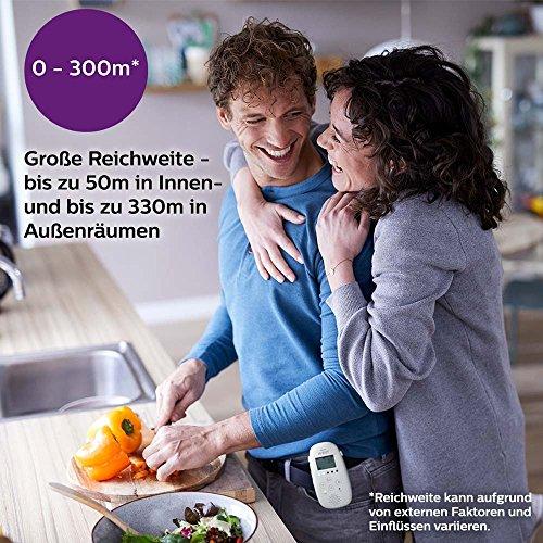 Philips Avent Audio-Babyphone SCD733/26, DECT-Technologie, Eco-Mode, Sternenhimmel, 18 Std. Laufzeit