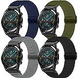 Cinturino per Huawei Watch GT 2 46mm, Hatolove Cinturino in Nylon da 22 mm Leggero Traspirante Cinturino di Ricambio Sportivo per Huawei Watch GT/GT 2e/GT 2 Smart Watch/Galaxy Watch 3 45mm/Gear S3