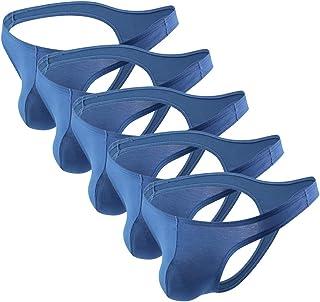 Summer Code Mens Modal Thongs Lightweight Underwear Multicolors 5 Pack …