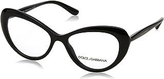 2c03e3ed48a6 Dolce   Gabbana Women s DG3264 Eyeglasses Black 52mm