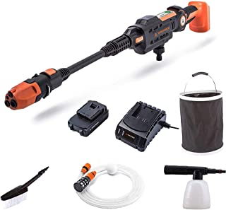 Sponsored Ad – Yard Force 22Bar 20V Aquajet Cordless Pressure Cleaner with 2.5Ah Lithium-Ion Battery, Charger and Accessor...