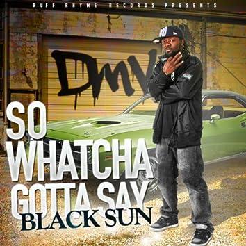 So Whatcha Gotta Say (the Dmv Anthem)