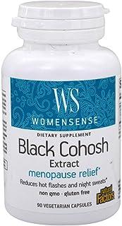 Natural Factors - WomenSense Women's Black Cohosh Extract 40mg, Menopausal Symptom Support, 90 Vegetarian Capsules