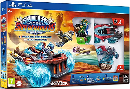 Skylanders Superchargers Pack de Démarrage PS4