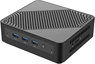 Mini PC Intel Core i5-5257U Windows 10 Pro Mini Computer, Upgradeable 8GB RAM+128GB SSD, HDMI/Mini DP/USB-C Triple Outputs...