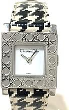 (ディオール)Dior D60-109 レディース腕時計 カナージュ ラ パリジェンヌ 腕時計 SS×革ベルト レディース 中古