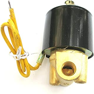 1/8 Solenoid Valve 110v/115v/120v AC Plastic Electric Air Water Gas Normally Closed NPT