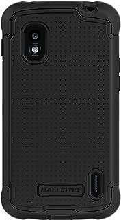 Ballistic SG1098-M005 AGF SG Series Case for LG E960/NEXUS 4 - 1 Pack - Retail Packaging - Black