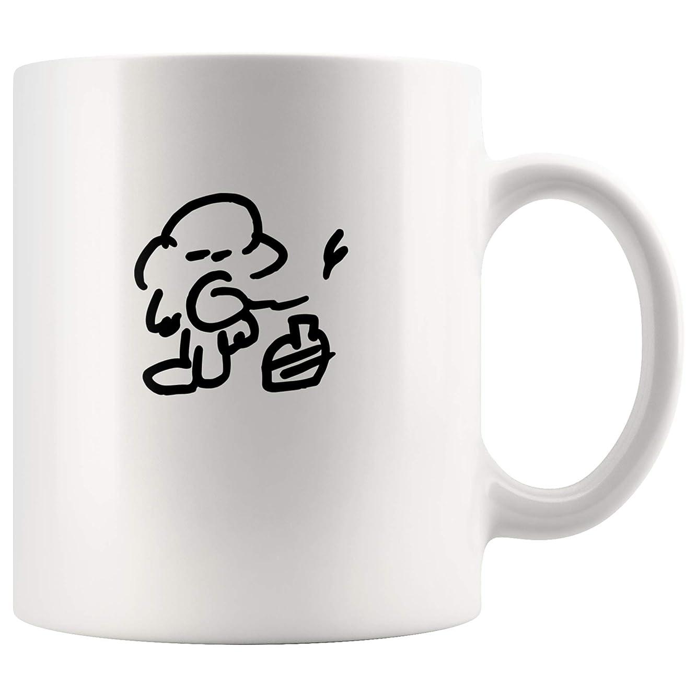 Charles Bukowski Portrait Drawing Mug