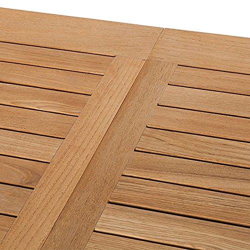 Trendy-Home Trendy Home GmbH Ausziehbarer 150/210 x 90 x 75 cm Tisch, braun