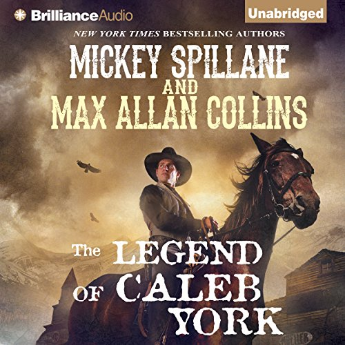 The Legend of Caleb York audiobook cover art