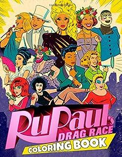 Rupaul's Drag Race Coloring Book