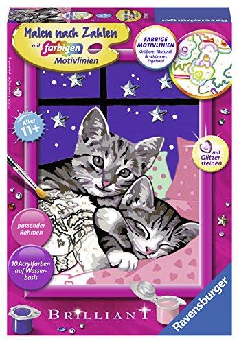 Ravensburger Malen nach Zahlen 27995 - Schlafende Katzen