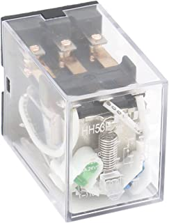 Heschen Gereral Purpose Power Relais HH53P L 12 V DC Coil 5 A 220 V AC/24 V DC 3PDT 11 Pin Terminals LED Anzeige