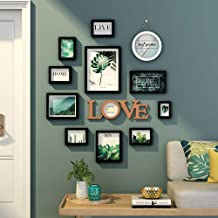 Photo Wall Frames Collage,DIY Photo Wall-Mounted Combination Picture Frame, Photo Frames Multiple Photos, Wall Gallery Pho...