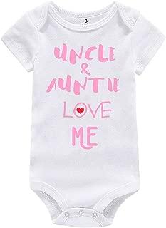 Amberetech Baby Boy Girl Outfit Grandpa Grandma Love Me Print Newborn Baby Jumpsuit Clothes