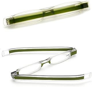 cd9e31d63dd4 VEVESMUNDO Rimless Reading Glasses Women Men Presbyopic Readers With Slim  Case