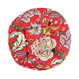 Picturesque Circular Bohemian Floor Pillow Tatami Cushion