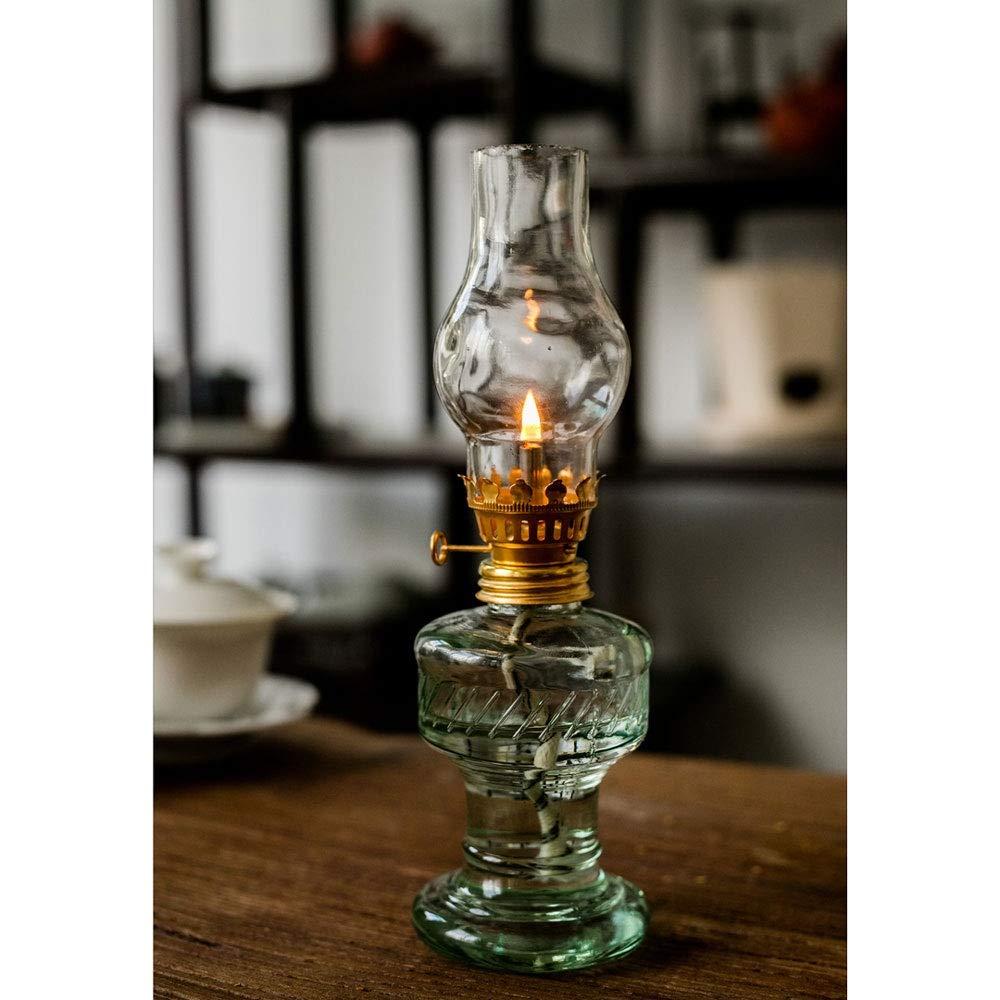Naiyn Retro Nostalgic Glass Kerosene