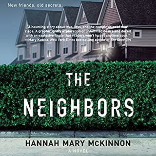 The Neighbors                   Written by:                                                                                                                                 Hannah Mary McKinnon                               Narrated by:                                                                                                                                 Mary Jane Wells,                                                                                        Alex Wyndham,                                                                                        Billie Fulford-Brown,                   and others                 Length: 8 hrs and 56 mins     3 ratings     Overall 5.0