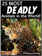 25 Most Deadly Animals in the World! Animal Facts, Photos and Video Links. (25 Amazing Animals Series Book 7)